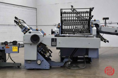 Stahl TF 66 Continuous Feed Paper Folder, 16 Fold and Mobile Delivery - 121820092240