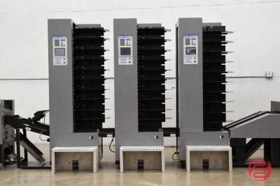 Duplo System 4000 30 Bin Booklet Making System w/ Stitcher, Folder, and Trimmer - 012122090420