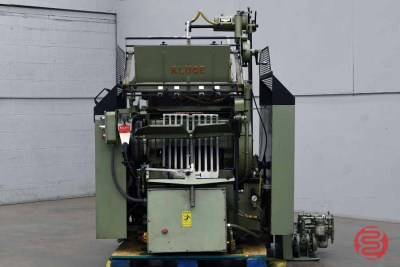 Kluge 14x22 EHD Series Foil Stamping, Embossing & Diecutting Press - 011421034340