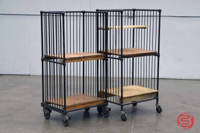 Rolling Wire Carts (Qty 2) - 011821030640