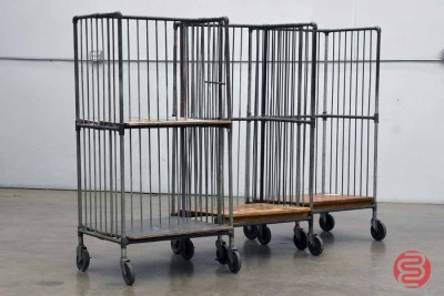 Rolling Wire Carts (Qty 3) - 011821032920