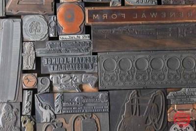 Antique Letterpress Blocks - 021221110850