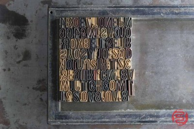 Antique Letterpress Blocks - 021221121050