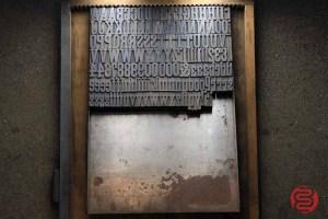 Assorted Antique Letterpress Letter Blocks - 020521015050