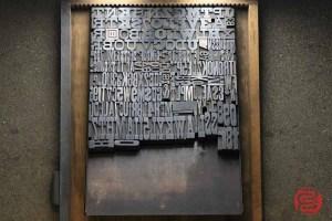 Assorted Antique Letterpress Letter Blocks - 020521105050