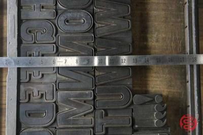 Assorted Antique Letterpress Letter Blocks - 020621094440