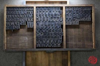 Assorted Antique Letterpress Letter Blocks - 020621100140