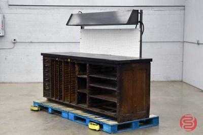 Hamilton Letterpress Cabinet - 020121020230