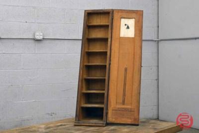 Hamilton Letterpress Furniture Cabinet - 022521090540