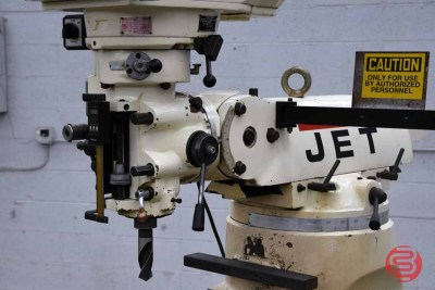 Jet JTM-4VS Mill With 303 DRO With X and Y-Axis Powerfeeds - 020221082330