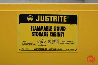 Justrite Flammable Liquid Storage Cabinet - 022101074700