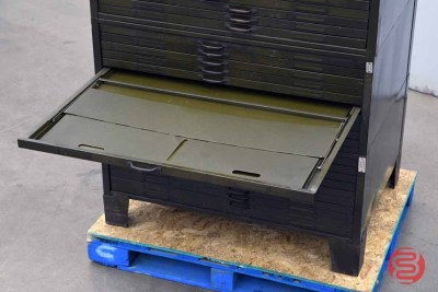 Letterpress Typekit Drawers Cabinet - 020821091410