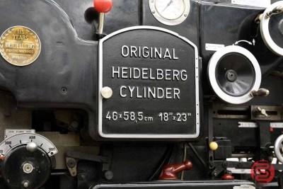Original Heidelberg Cylinder - 022521022320