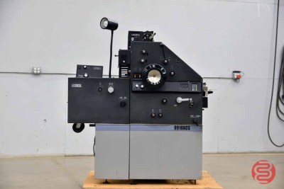 AB Dick 9910XCS Two Color Offset Printing Press - 042221121000
