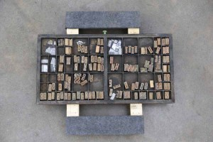 Assorted Antique Letterpress Letter Blocks - 040921015920