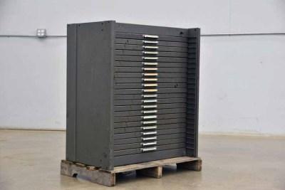 Flat Letterpress Type Cabinet - 040921115620