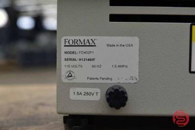Formax FD402P1 Single Bin Paper Jogger - 042621094010