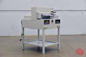 MBM Triumph Ideal 4850-95 EP Programmable Paper Cutter - 042321101010