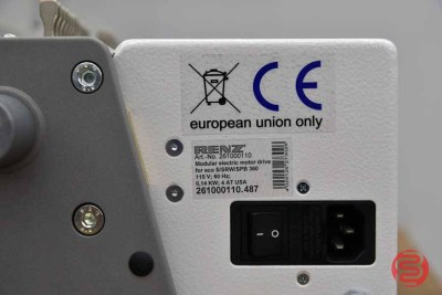Renz ECO 360 ComfortPlus Pitch Electric Wire Binding Machine - 041221020520