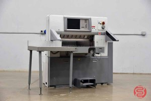 2006 Polar 78X Programmable Paper Cutter w/ Air Tables and Safety Lights - 052221094612