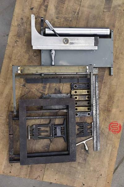 Antique Vandercook No. 4T Proof Press - 050721072014