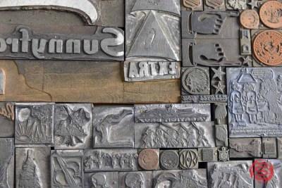 Assorted Letterpress Cuts - 050721115010