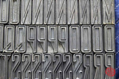 Assorted Letterpress Font Metal Type - 050621080010