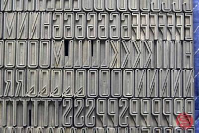 Assorted Letterpress Font Metal Type - 050621082617