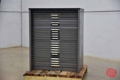 Hamilton Letterpress Typekit Cabinet - 050321015050