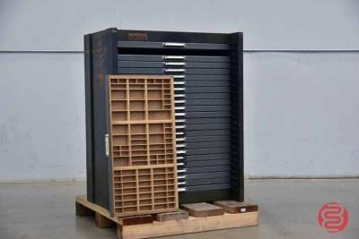 Hamilton Letterpress Typekit Cabinet - 050321020010