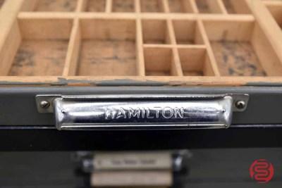 Hamilton Letterpress Typekit Cabinet - 050321122010