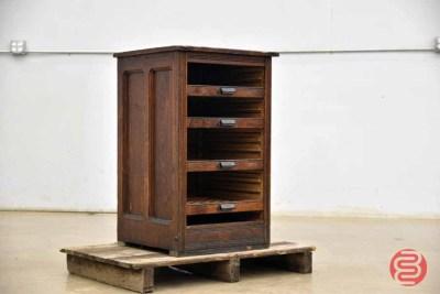 Hamilton Letterpress Typekit Cabinet - 050421111009