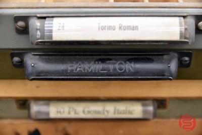 Hamilton Typekit Letterpress Drawers (Qty - 36) - 050321034040