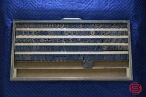 Letterpress Font Wood Type - 050421012339