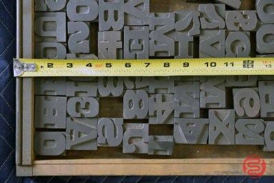 Letterpress Font Wood Type - 050421022355