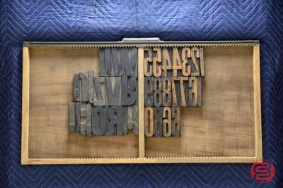 Letterpress Font Wood Type - 050521103229