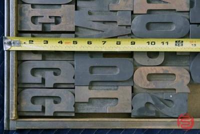 Letterpress Font Wood Type - 050521105017
