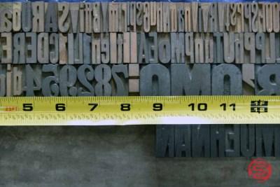 Letterpress Font Wood Type - 050521114253