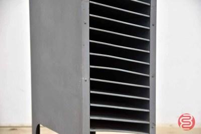 Letterpress Galley Cabinet w/ Slug Cutter - 050521085234