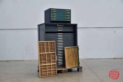 Letterpress Typekit Cabinet - 050321013050
