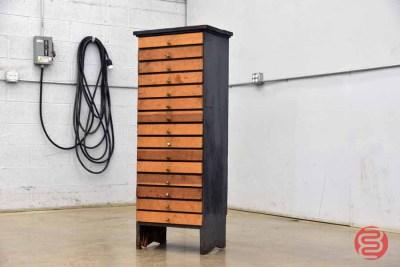 Letterpress Typekit Cabinet - 050521091817