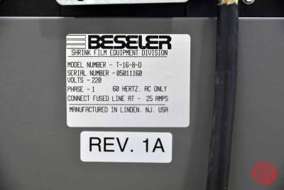2016 Beseler Shrink Wrap System w/ TD-16-8 Shrink Tunnel - 060821104820