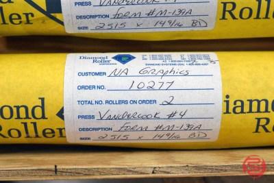 Antique Vandercook No. 4T Proof Press - 062621105201