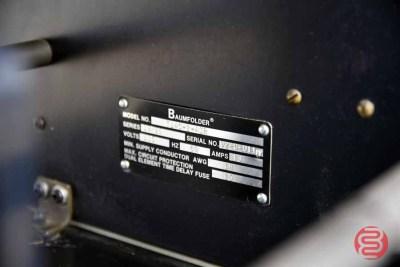 Baum 714 Ultrafold XE Air Feed Paper Folder - 062921024611