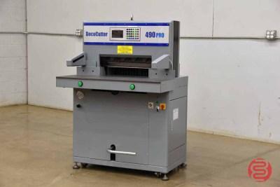 Duplo DocuCutter 490 19in Programmable Paper Cutter - 061821075346