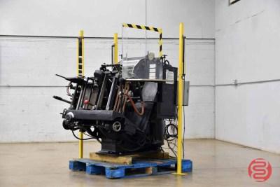 Heidelberg 10in x 15in Red Ball Windmill Letterpress - 062921020135