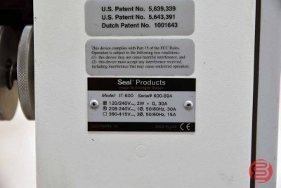 Seal Image iT-600 41in Double Sided Hot Roll Laminator - 052821111849