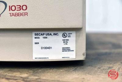 Secap 1030 Tabletop Tabbing Machine - 060821114420