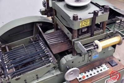 1980 Kolbus PE 70 Foil Stamping and Embossing Machine - 070121084014