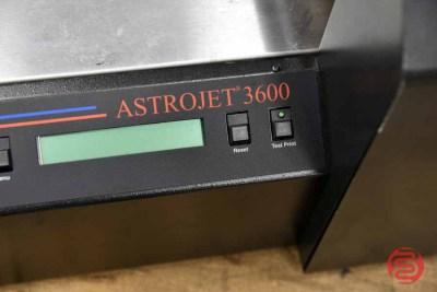 AstroJet 3600P Tabletop Address Printer w/ Feeder and Delivery Conveyor - 071421023350